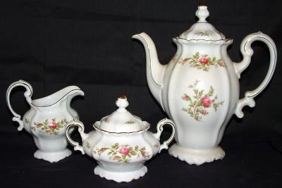 Antique Haviland  Germany 103 piece Pottery Porcelain Dinnerware - Service for 12