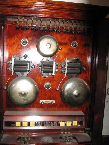 1800's BANK ALARM Scientific - Free Standing RARE - Antique Scientific Equipment tool