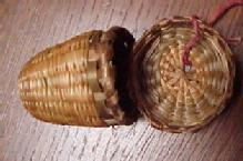 Sweet Grass Native American Made Thimble Case - Textiles