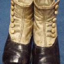 Child's Two Tone Shoes - Vintage - Miscellaneous