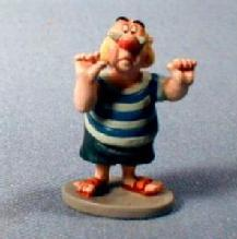 old vintage Disney Goebel Miniature SMEE  Figure - Peter Pan Retired Goebel by Olszewski - Metalware toy