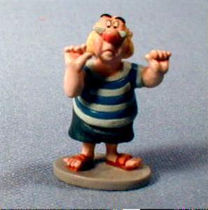 Disney Goebel Miniature SMEE  Figure - Peter Pan Retired Goebel by Olszewski