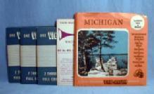 vintage MICHIGAN Vacationland Series   View-Master Reels - toys