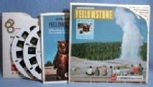 vintage YELLOWSTONE - South  View-Master Reels - toys photographic