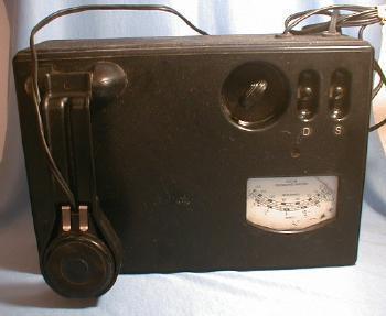 Picture Photographic Analyzer - Weston Model 877 - misc