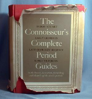 old vintage CONNOISSEUR'S COMPLETE PERIOD GUIDES - Antique Furnishing, Houses & Decoration -Hard Cover Book
