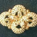 Pearl Jewelry  vintage Victorian Seed Pearl Brooch - jewelry