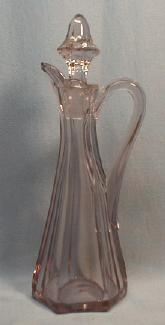 Kitchen  Glass Oil Cruet - Heisey or Viking