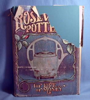 ROSEVILLE Pottery FOR LOVE or MONEY HB Book -