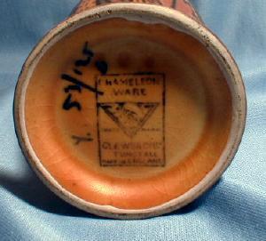 CHAMELEON Ware Art Pottery VaseVintage