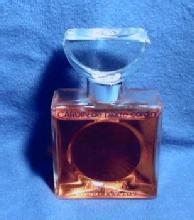 CARDIN de pierre cardin - Vintage Art Deco French Glass Perfume Bottle