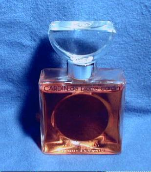 CARDIN de pierre cardin - Vintage Art Deco French Glass Perfume Bottle