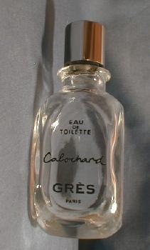 CABOCHARD Perfume by Gres of Paris - Vintage French Glass Perfume Bottle
