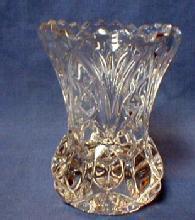 Pressed Glass Toothpick Holder