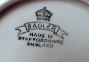 ROLLS ROYCE 1909 Automobile - Sadler Pottery Mug