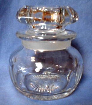 Heisey Clear Glass Humidor or Jar