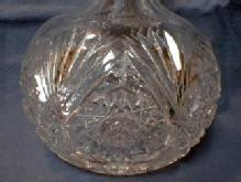 cut glass  Exceptional Micro Fine Cut Glass Bowl - Antique