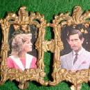Vintage Miniature ORMOLU - DOUBLE Photo Frame - Misc.