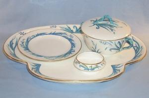 COPELAND Porcelain BREAKFAST TRAY SET
