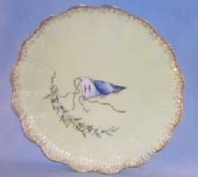 LIMOGES Decorative BEATRICE Marked Signed Porcelain Plate
