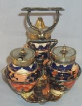 GAUDY WELSH Porcelain Condiment Set