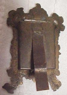 Fancy Miniature Frame - Metalware