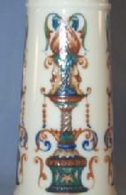 ROYAL BAYREUTH 2 Handled FOX HUNT Porcelain Vase