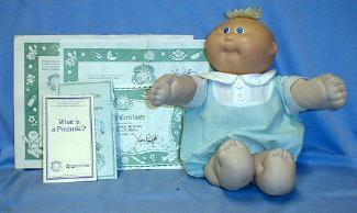 vintage 1985 Cabbage Patch Preemie Doll JOEY WINTON -