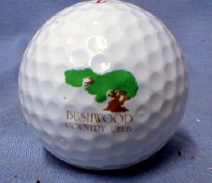 BUSHWOOD COUNTRY CLUB - Spalding Top Flite XL Golf Balls - Mint in Box sporting