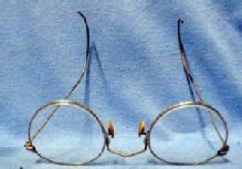 antique Eyeglasses Spectacles  1880 - Gold Filled - metalware