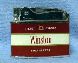 Winston Cigarette Lighter - Vintage Tobacciana