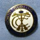 old Toronto Curling Club 1836 Pin - Medal - Sporting