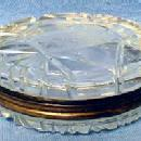Cut Glass Snuff Box - Patch or Pill Box