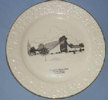 Chesaning Michigan Porcelain Decorative Church Plate