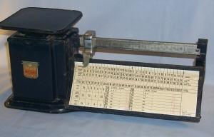 TRINER Air Mail Accuracy Two Pound Scale - Metalware