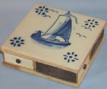 DELFT Tile Match Holder - Tobacciana