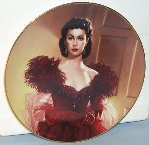 Bradford Exchange SCARLETT O'HARA Limited Edition Porcelain Plate