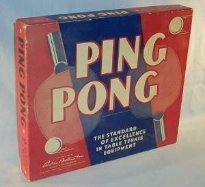 Parker Brothers PING PONG Sporting Set in Box