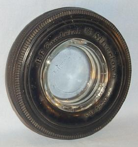 B.F. GOODRICH SILVERTOWN Tire Advertising Ashtray - Tobacciana