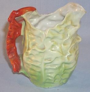 Unmarked ROYAL BAYREUTH Porcelain LOBSTER Creamer