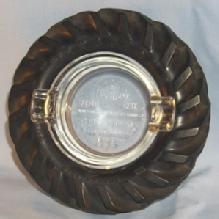 FIRESTONE 1939 Golden Gate International Exposition Tractor Tire Ashtray - Tobacciana