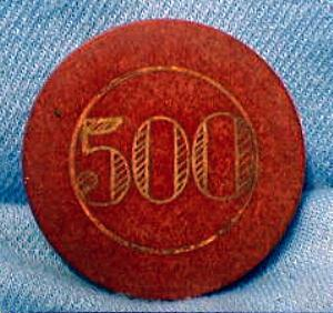 old vintage Clay Poker Chip