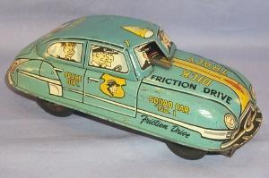 DICK TRACY Friction Drive Squad Car No. 1 - Toys