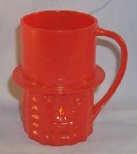 Bright Red MR. PEANUT Mug - Toys