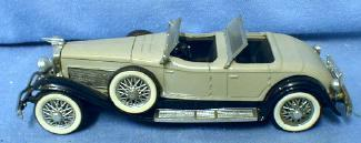 old vintage DUESENBERG Automobile Die Cast Toy - 1934 Rio made in Italy