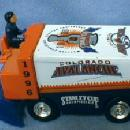 vintage 1996 Stanley Cup COLORADO AVALANCHE Ice Rink Machine - Die Cast ICE MAKER Toy