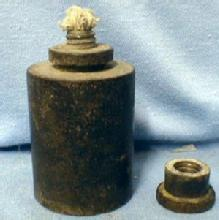 Civil War Medical  Alcohol Burner 1860 - CW era
