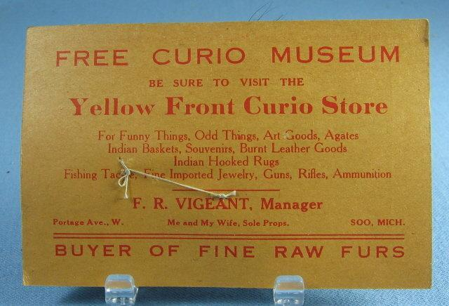 vintage Hand Tied Fly Fishing Lure LIGHT BUCK - Trout Bass Salmon Rainbow Bait - sporting