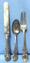Youth Silver Flatware Set  - 3 pieces