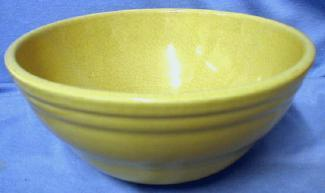 Kitchen  Yellow Ware Mixing Bowl - Vintage Kitchen